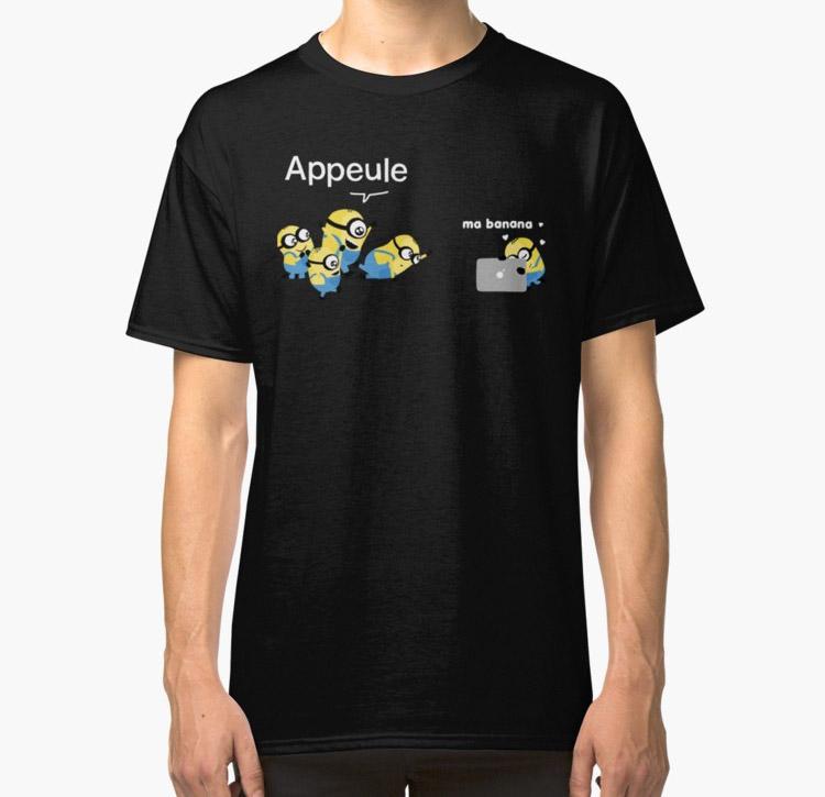 Appeule vs. Banana C'est un MAC boutique par Claire Milliet