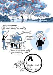 Les incroyables aventures de Steve - l'origine du nom Apple part6