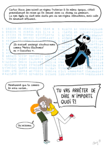 Les incroyables aventures de Steve - l'origine du nom Apple part 8